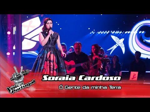 Soraia Cardoso - 'Ó gente da minha terra'   Final   The Voice Portugal
