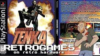 Let's Play Lifeforce Tenka on PS1 - Live Codename Tenka PS1 gameplay!