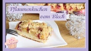 Pflaumenkuchen vom Blech - Hefeteig - einfach selber machen - BACKLOUNGE - Rezept