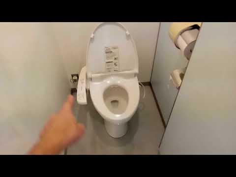 Японский туалет видео