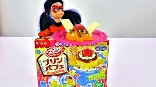 Видео для девочек с распаковкой. Готовим обед для куклы Леди Баг