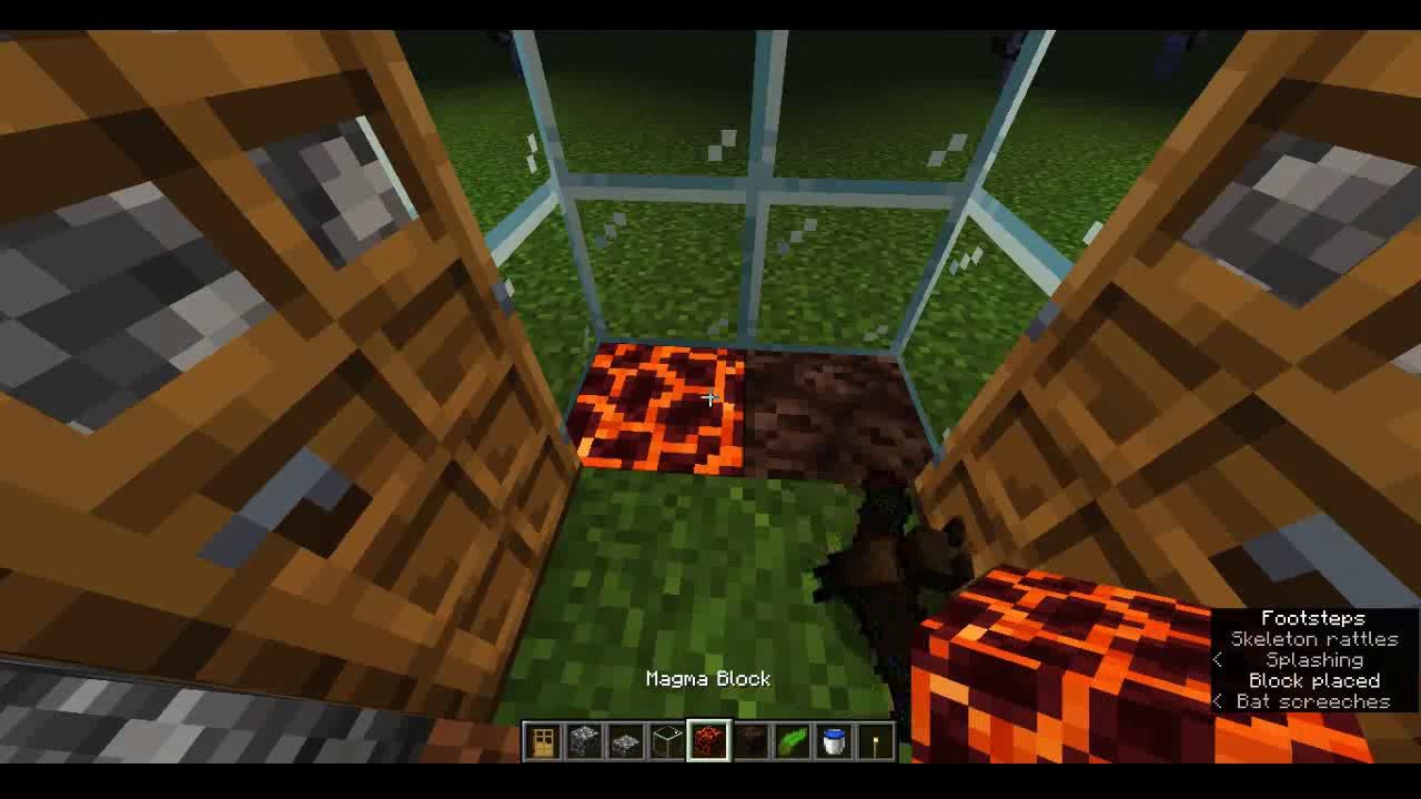 Minecraft 122.1223 - 122.1226+ Tutorial - Build a water elevator