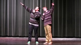 "High School Talent Show - Lil Jon ""Get Low"" (The Romantic Version)/Chaquita Banana"