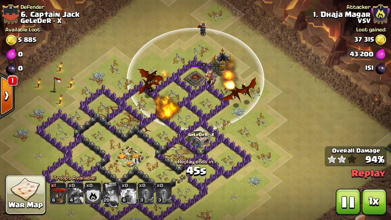 War Base Th 8 Terbaik Anti Darat Anti Udara Anti 3 Bintang Youtube