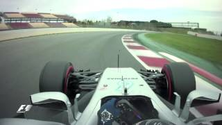 F1 Onboard: Bottas Sets New Fastest Lap Of 2017 Testing