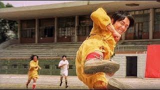 Первая игра команды Шаолинь на чемпионате Гонконга. Убойный футбол  2001