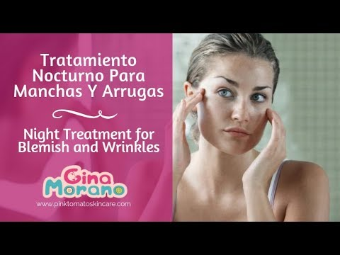 Tratamiento Para Manchas Y Arrugas - Treatment for Blemish and Wrinkles  (English subs)