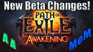 Path of Exile Act 4: Patch Note Changes including changes to Arctic Armour & MoM !