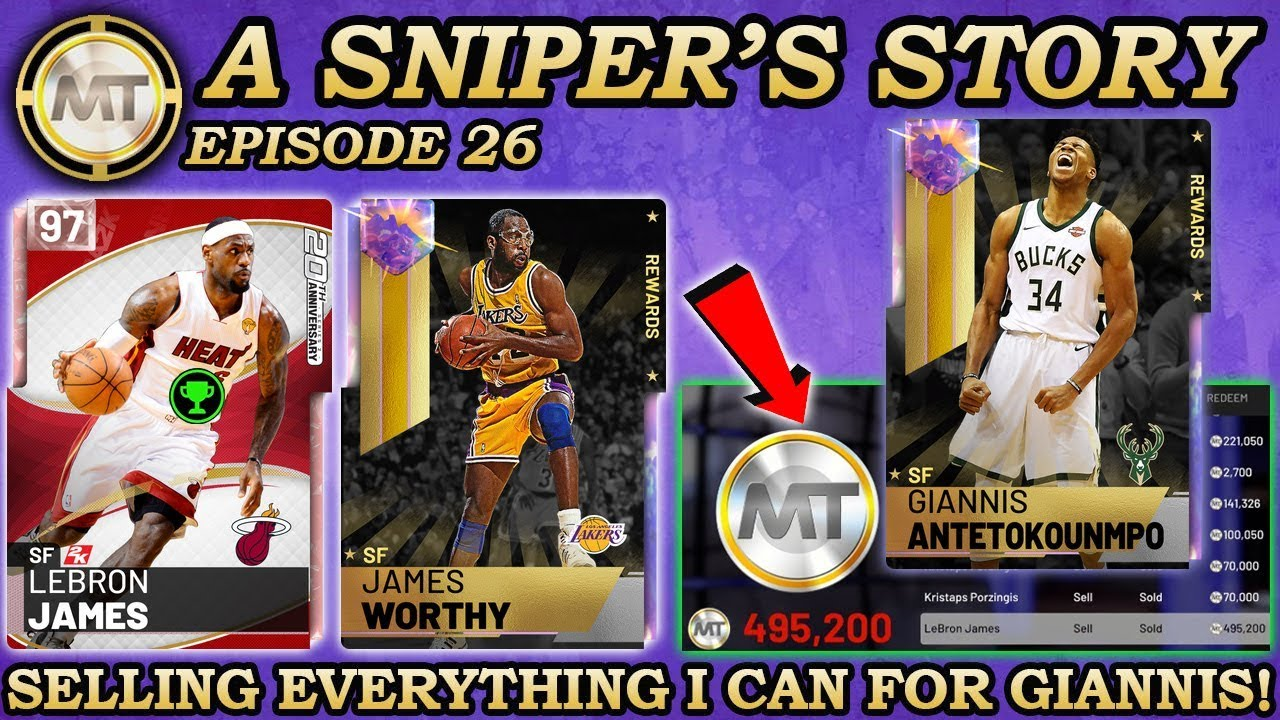 d45c9346808 I SOLD EVERY CARD I COULD FOR GALAXY OPAL GIANNIS IN MYTEAM! NBA ...