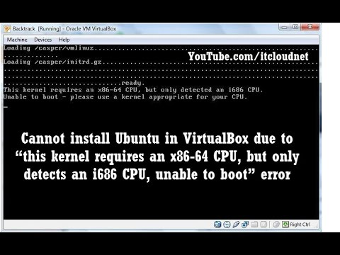Watch: How to Solve this kernel Requires an x86-64 CPU, but Only