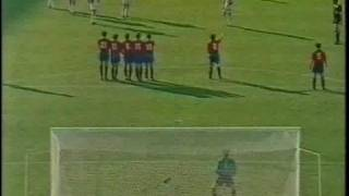 1990 World Cup Yugoslavia vs Spain (Dragan Stojkovic)