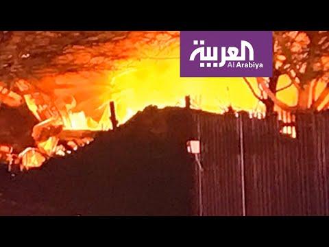 صور مباشرة للانفجار الذي وقع بأحد المباني الصناعية في هيوستن الأميركية  - 13:59-2020 / 1 / 24
