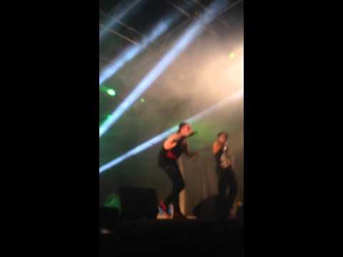 Gemitaiz,Madman,Jay Reaper 'Black Mirror' live @roma 02/07/2014
