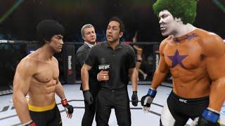 Bruce Lee vs. Star Clown (EA Sports UFC 2)