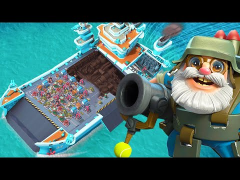 BEST Warships Base In Boom Beach Legendary League!