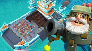 BEST Warships Base in Boom Beach Legendary League!