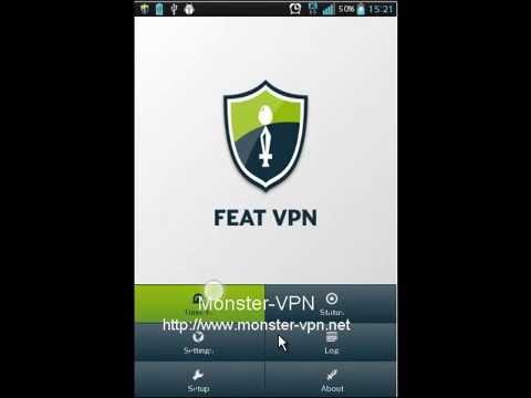 Configuracion FeatVPN con Monster-VPN
