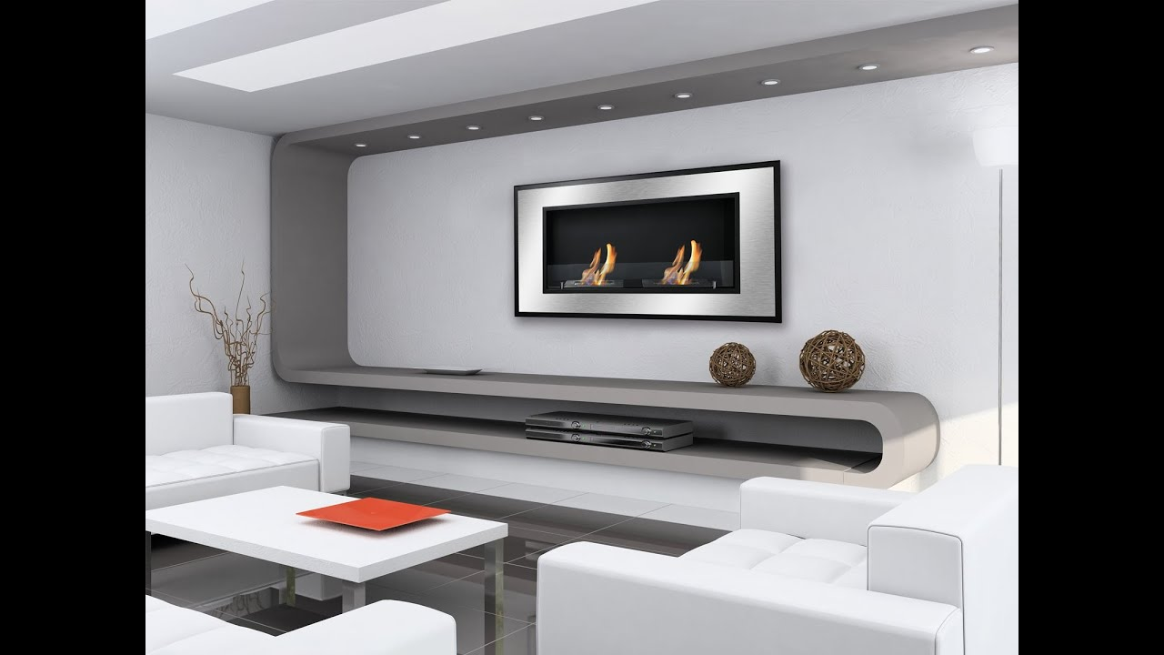 bellezza wall mounted ethanol fireplace by ignis youtube