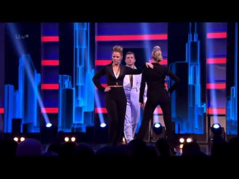 Kimberley Walsh & Denise Van Outen - Take That Look Off Your Face (ALW: 40 Musical Years 2013)