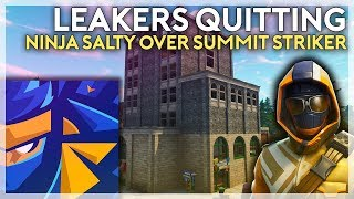 Fortnite Leakers Quitting and Ninja Upset Over Summit Skin (Fortnite Battle Royale)