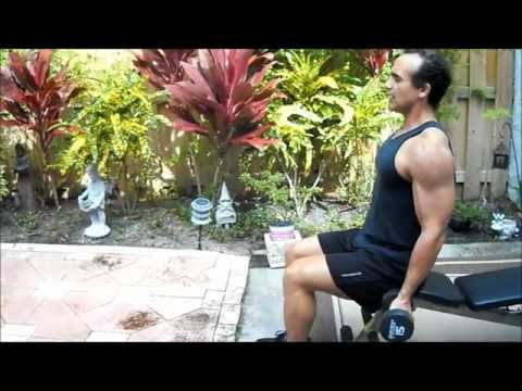 Dumbbell Double Biceps Curl