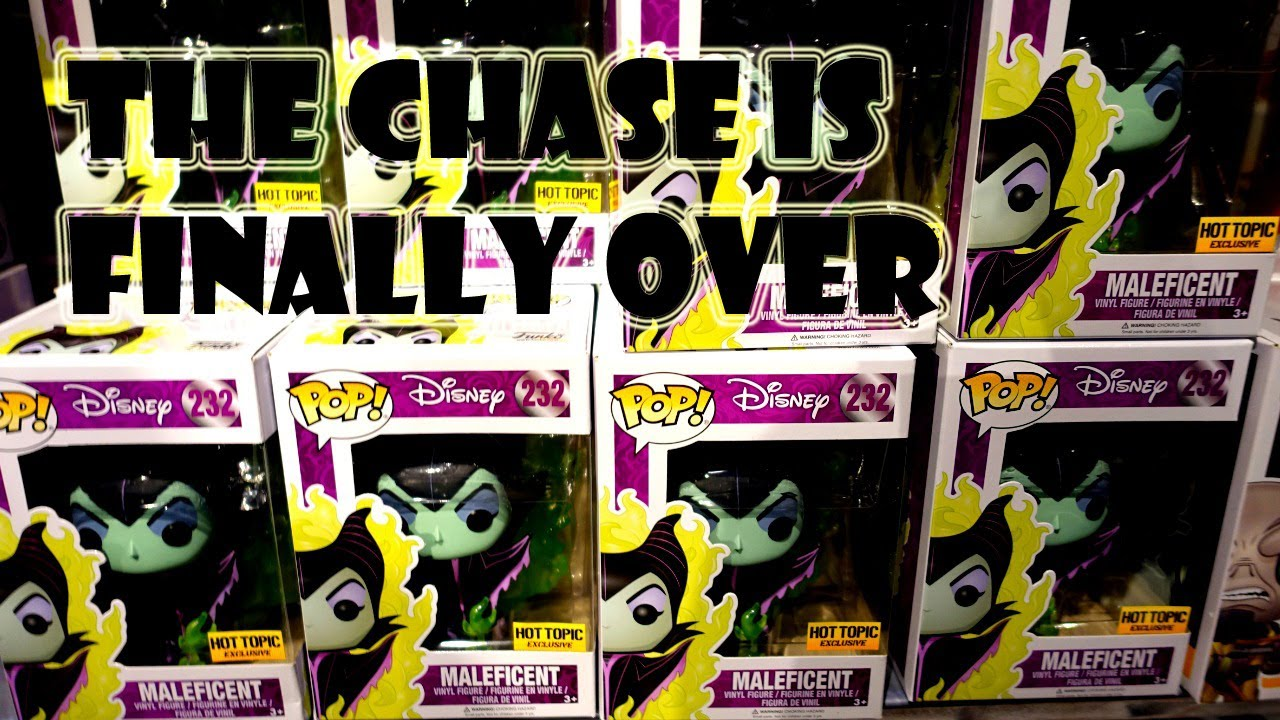Funko Pop Maleficent Chase Is Finally Over