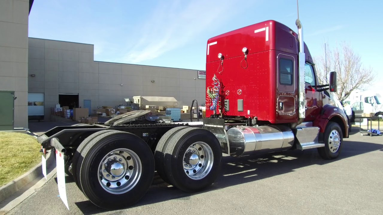 2016 Kenworth T880 52' commercial truck sleeper for sale STOCK # 367009