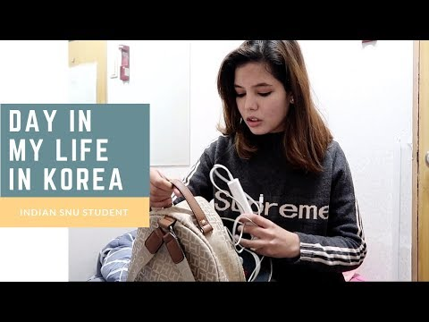 A Day In My Life In South Korea 🇰🇷 | SNU Indian Student in South Korea