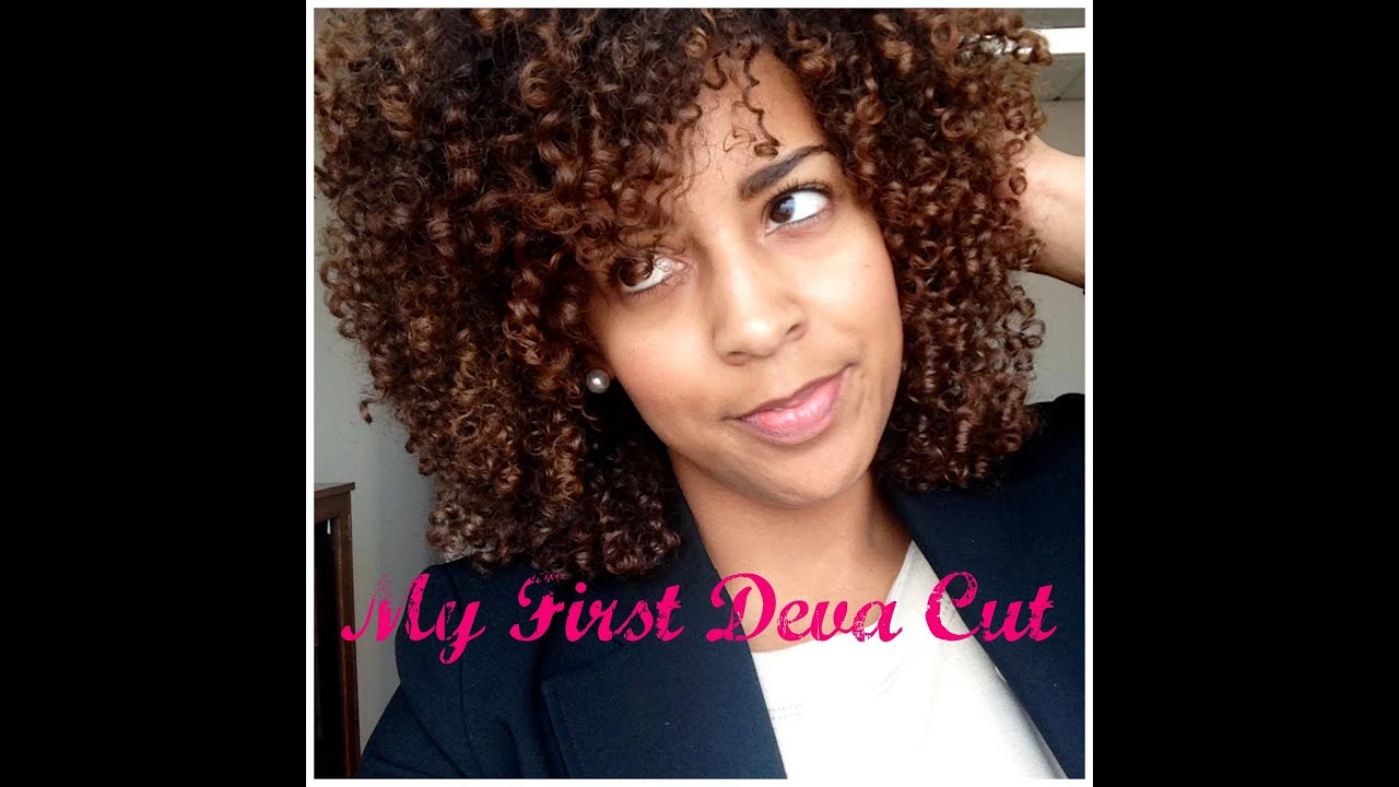 Natural Hair My First Deva Cut Pics Included YouTube - Curly cut dc