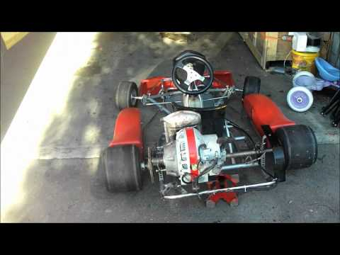 Rotary Wankel gokart sachs km48 8hp bridgeport engine