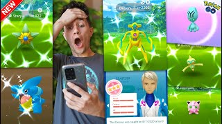CATCHING NEW SHINY DEOXYS, STARYU, GIBLE - THE GREATEST DAY OF POKÉMON GO EVER!