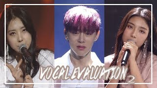 Save One Drop One || Produce 101/48 Vocal Evaluation Part 2