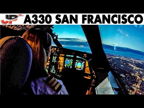 FIONA Pilots The Airbus A330 Out Of San Francisco