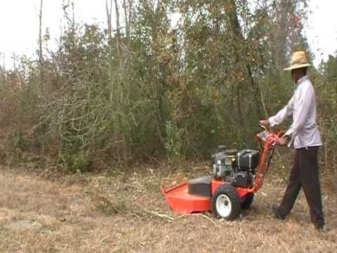 DR Field and Brush Mower Demo