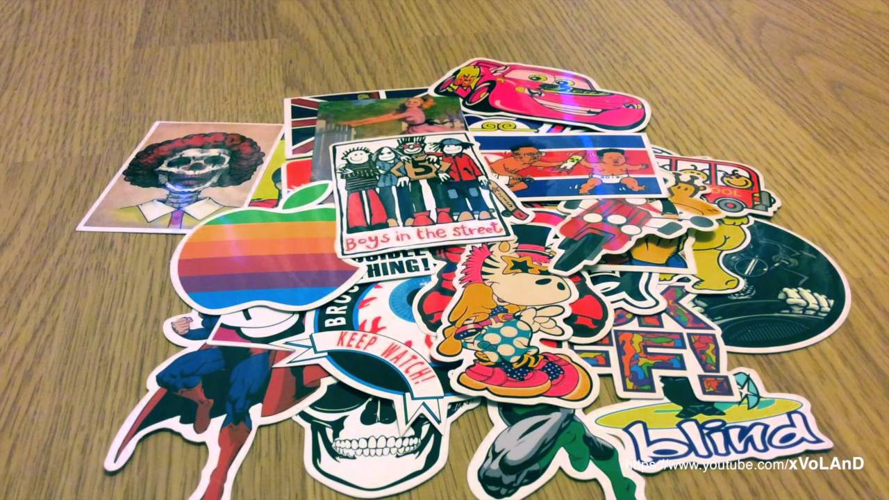 100pcs Stickers For Decorate Car Laptop Motorcycle