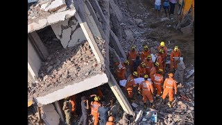 Greater Noida buildings collapse: 3 bodies recovered by NDRF, massive rescue operations underway