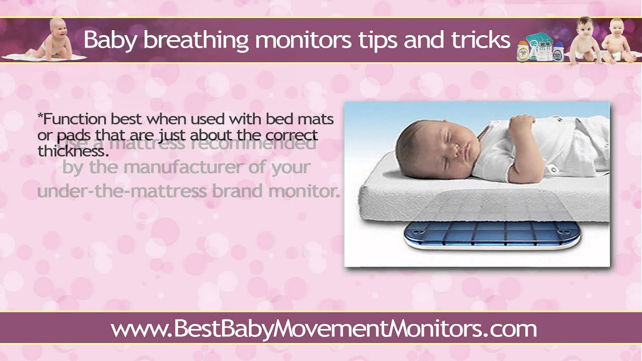how to eliminate false alarms with baby breathing monitors? - youtube