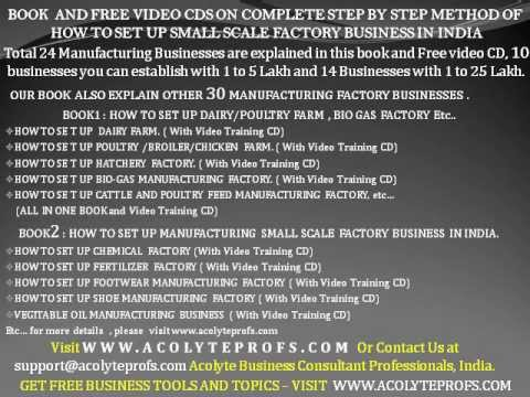 High Profitable Medium Scale Business Idea In India How To Set Up Start Step By Step Of Video