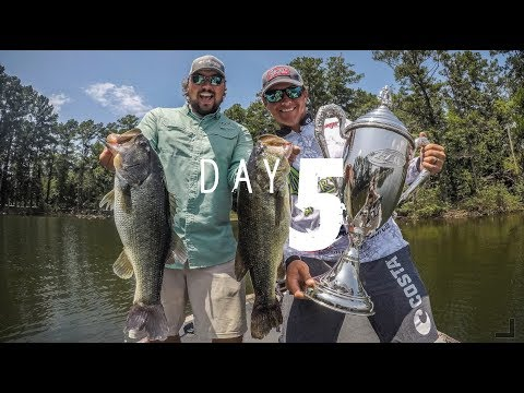 Day 5: Justin Atkins on the Forrest Wood Cup