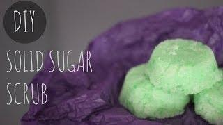 Diy Solid Sugar Scrub  lush Hack 