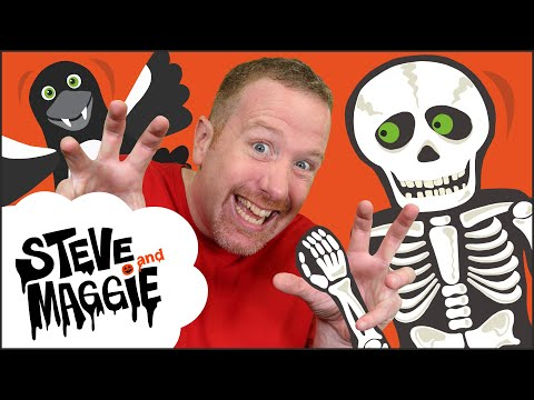 Halloween Trick Or Treat Story | Haunted House Spooky Party With Steve And Maggie | Wow English TV