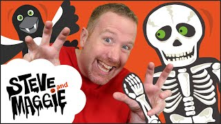 Get ready for HALLOWEEN with Steve and Maggie! Oh yes, it's Halloween season again. There are scary monsters playing Halloween Trick or Treat around ...