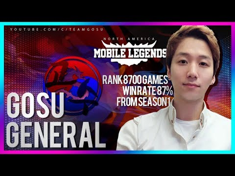 North America the Top Squad Match Gosu VS OG / Mobile Legeds