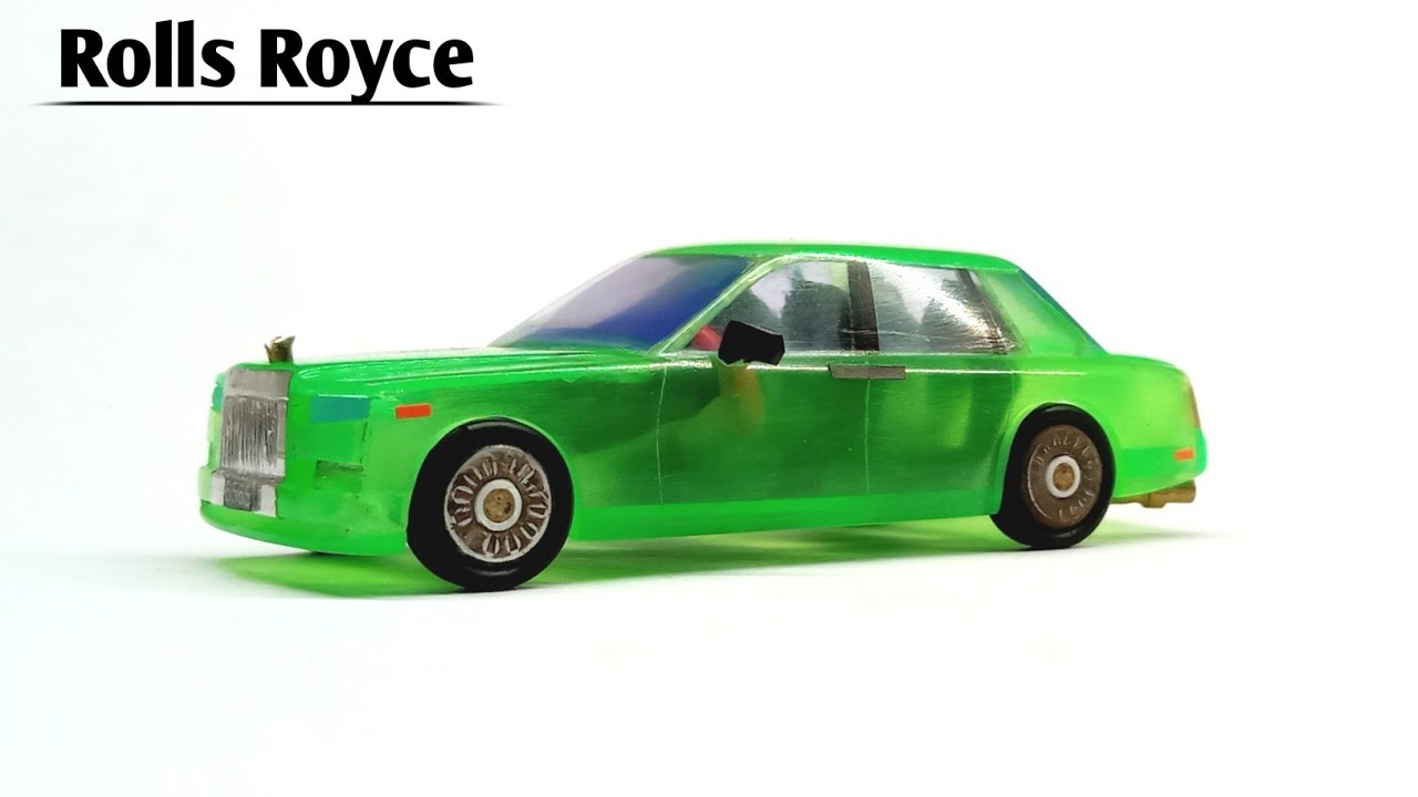 An easy way to make a Rolls Royce Phantom from a gas lighter