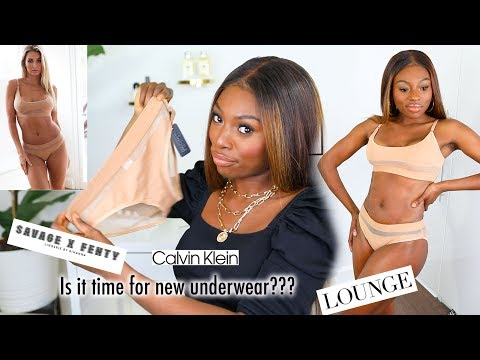 WHEN YOUR UNDERWEAR IS RAGGEDY..IS IT WORTH BUYING FROM THESE BRANDS? SAVAGE X FENTY, LOUNGE & MORE!
