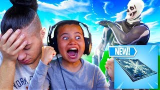 GAMEPLAY DE PIÈGE À FIFINIS DE CONGÉLATION ! I CANT BELIEVE MY 10 YEAR OLD BROTHER DID THIS... FORTNITE BATTLE ROYALE