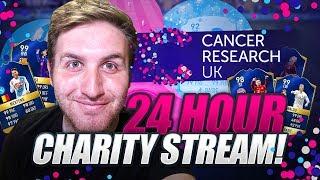 24 HOUR CHARITY STREAM!