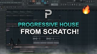 HOW TO MAKE: A PROGRESSIVE HOUSE TRACK FROM SCRATCH (Ep. 1 - Chords & Melody) - FL Studio tutorial