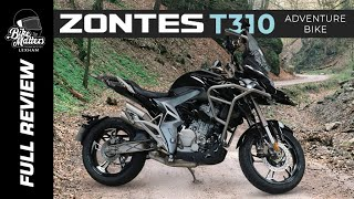 Zontes T310 Adventure Bike Review!