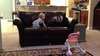 toddler takes a tumble